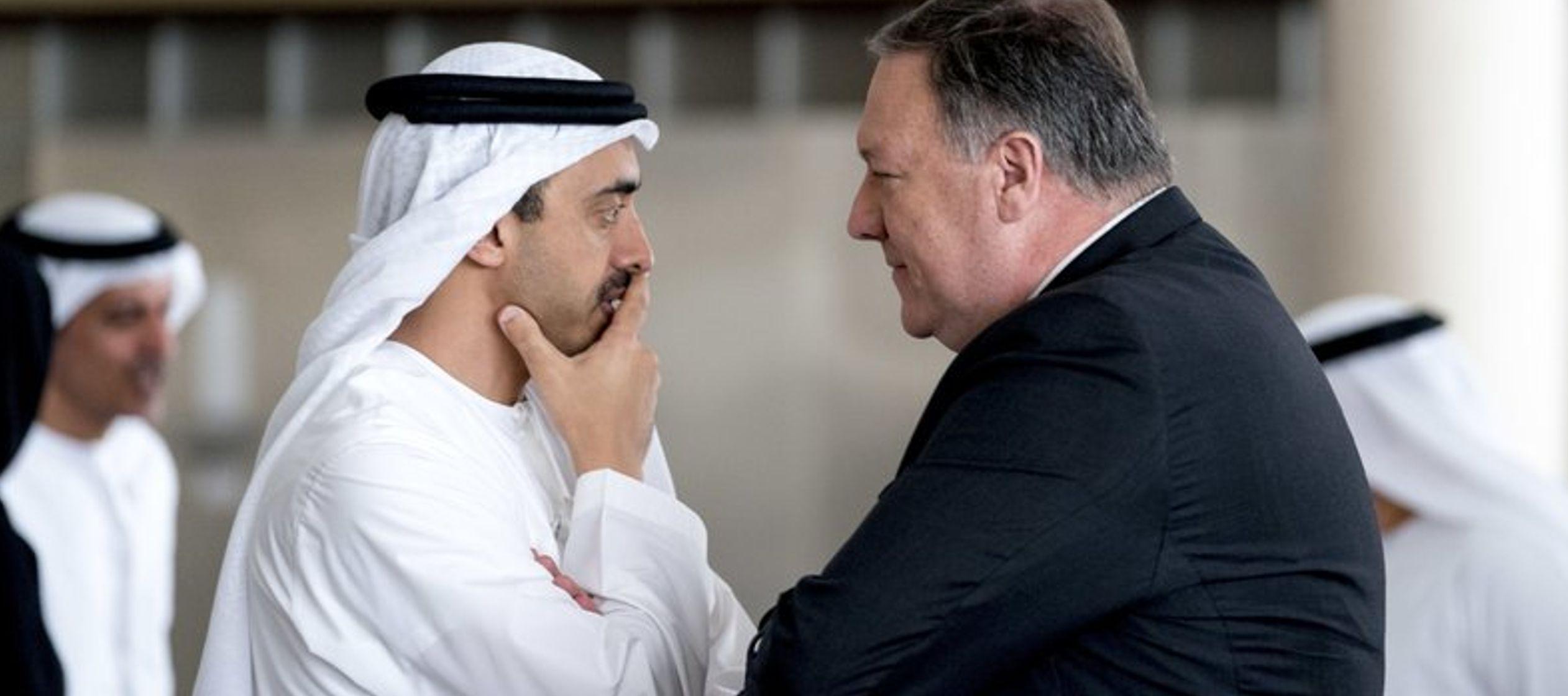 Los comentarios de Pompeo ocurrieron durante un viaje breve a Emiratos Árabes Unidos, aliado...