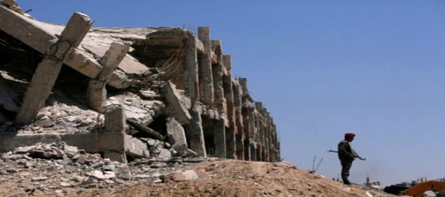 Fuerzas leales al presidente sirio combaten desde el pasado 19 de junio en esta provincia...