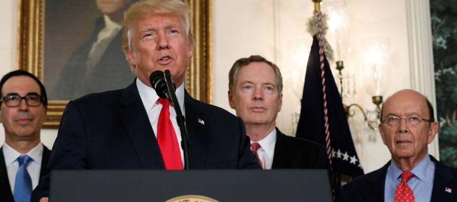 El comercio mundial se convierte en rehén del caos que quiera sembrar el presidente Trump,...