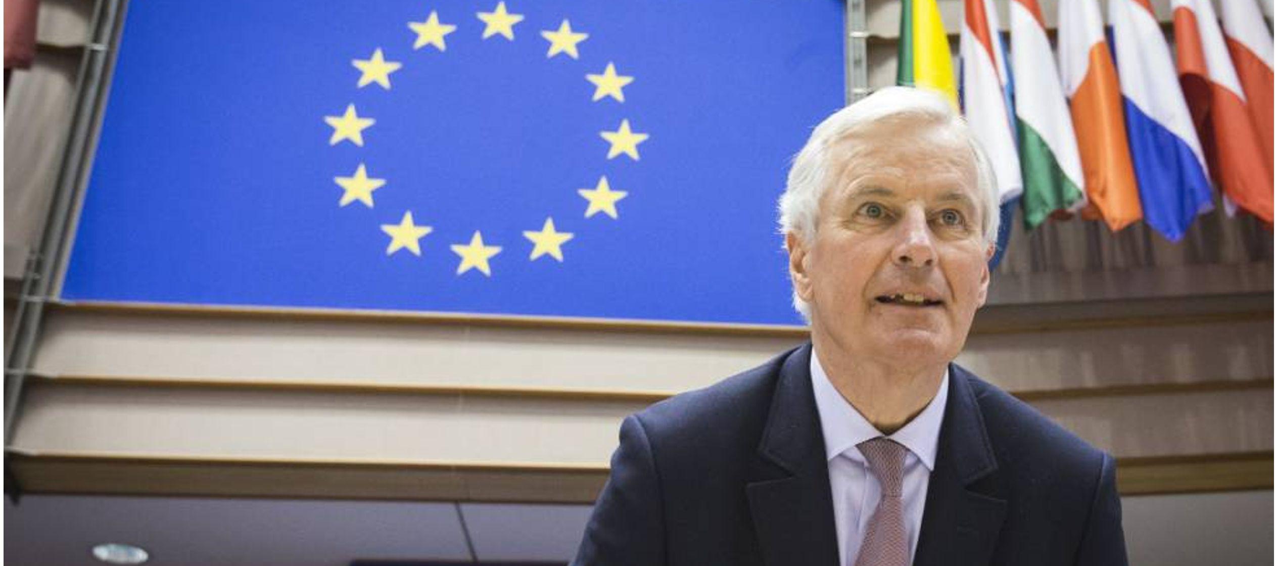 Barnier no quiso entrar a valorar la sucesión de dimisiones que en los últimos...