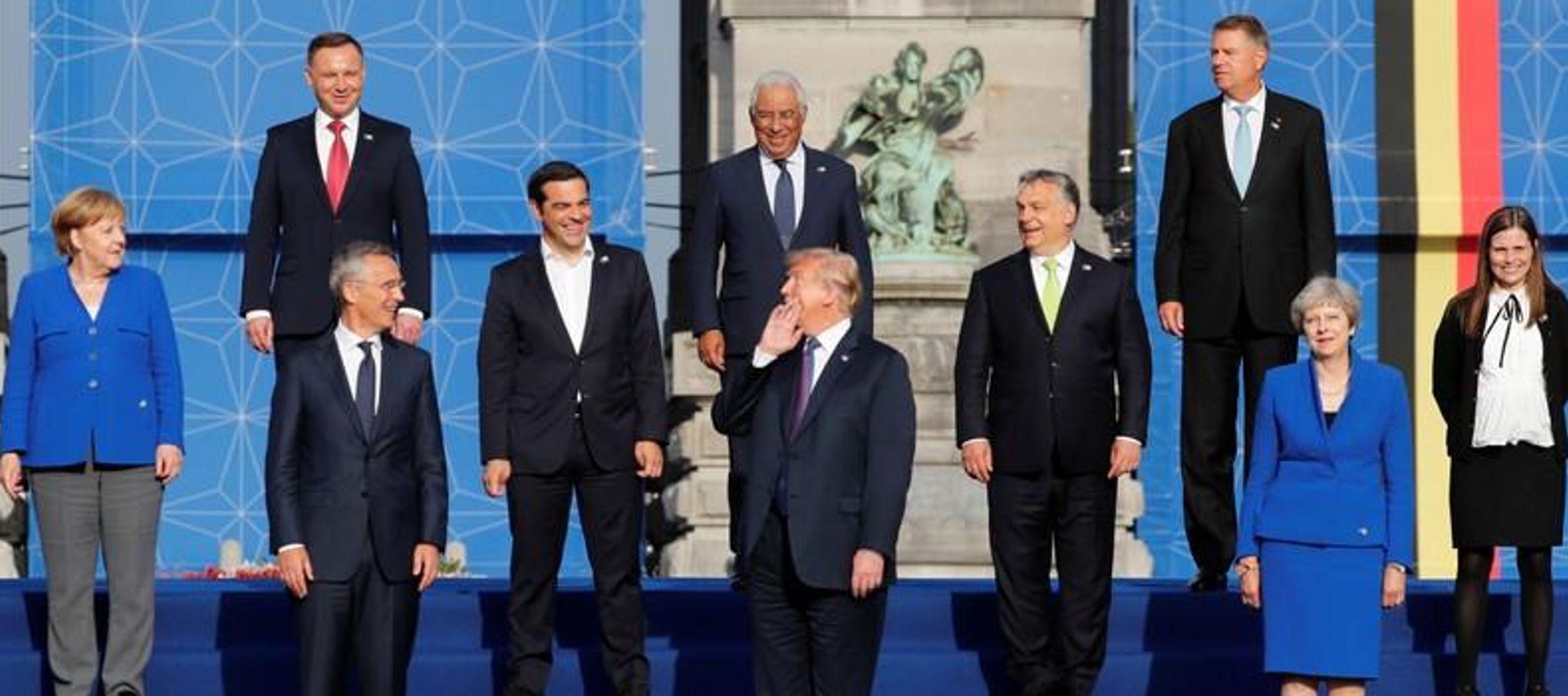 Cuando se le pidió que confirmara la propuesta de Trump, el secretario general de la OTAN,...