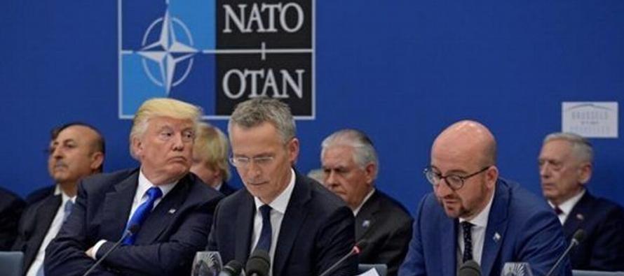 En la reunión de líderes de la Alianza que concluyó este jueves en Bruselas no...