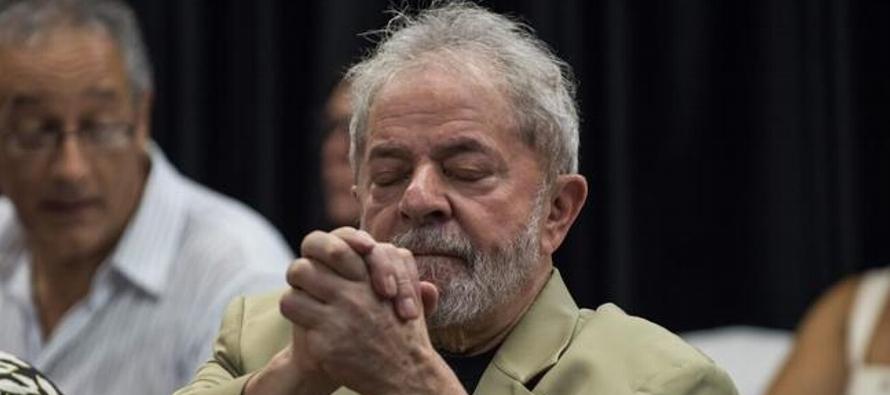 Un juez de Brasilia halló hoy inocente a Lula de los cargos de obstrucción a la...