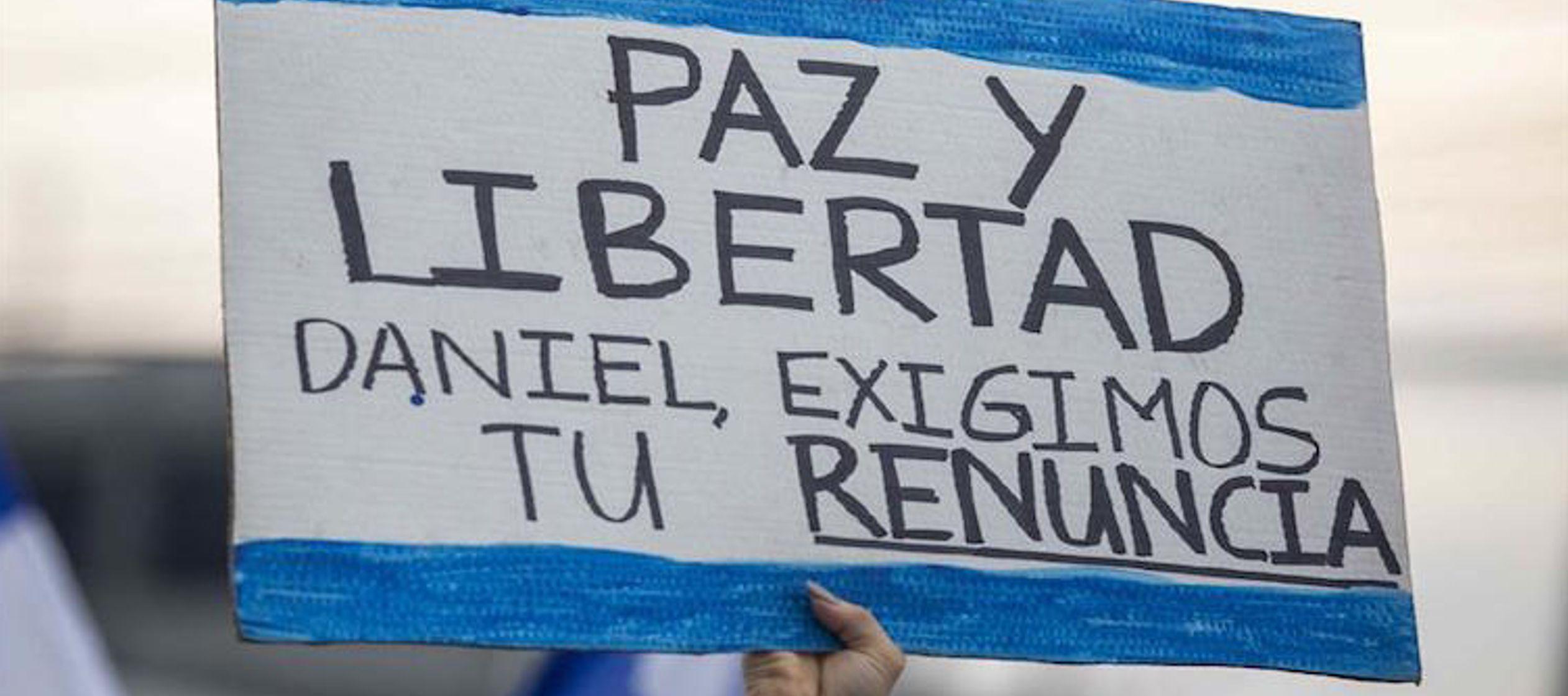 Trujillo sostuvo que el único objetivo del Gobierno nicaragüense en estos momentos es...
