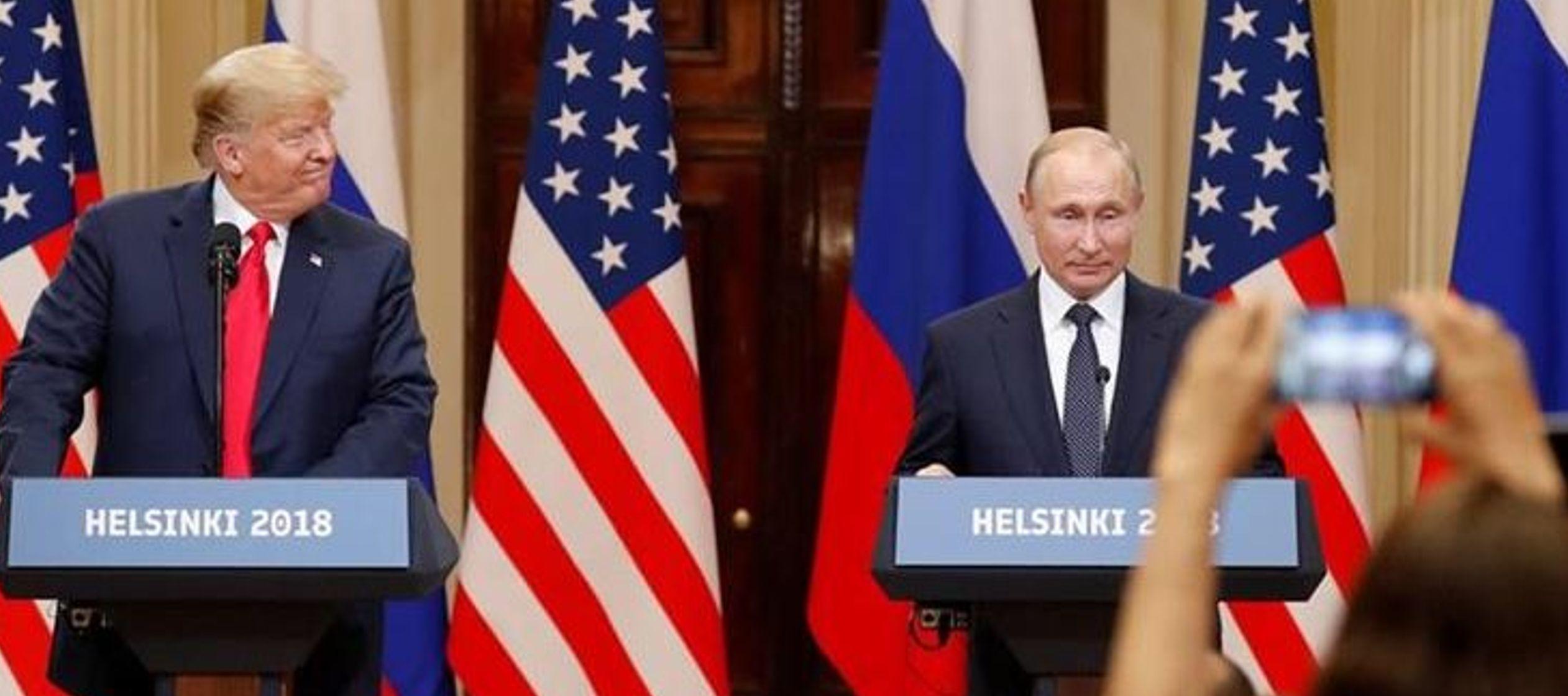 """rump dijo incluso que no ve """"ningún motivo"""" por el que Rusia podría haber..."""