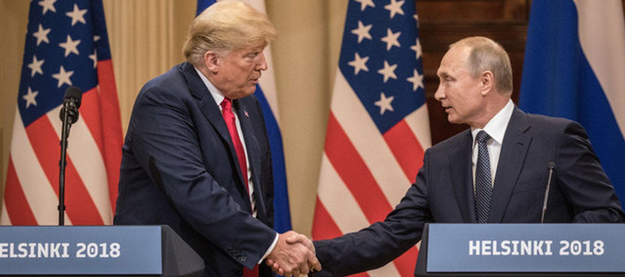 Es difícil reconciliar la aprobación de Trump a los tiranos del mundo con su...