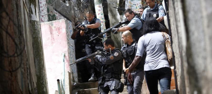 El Instituto de Seguridad Pública de Río informó hoy que 155 personas...