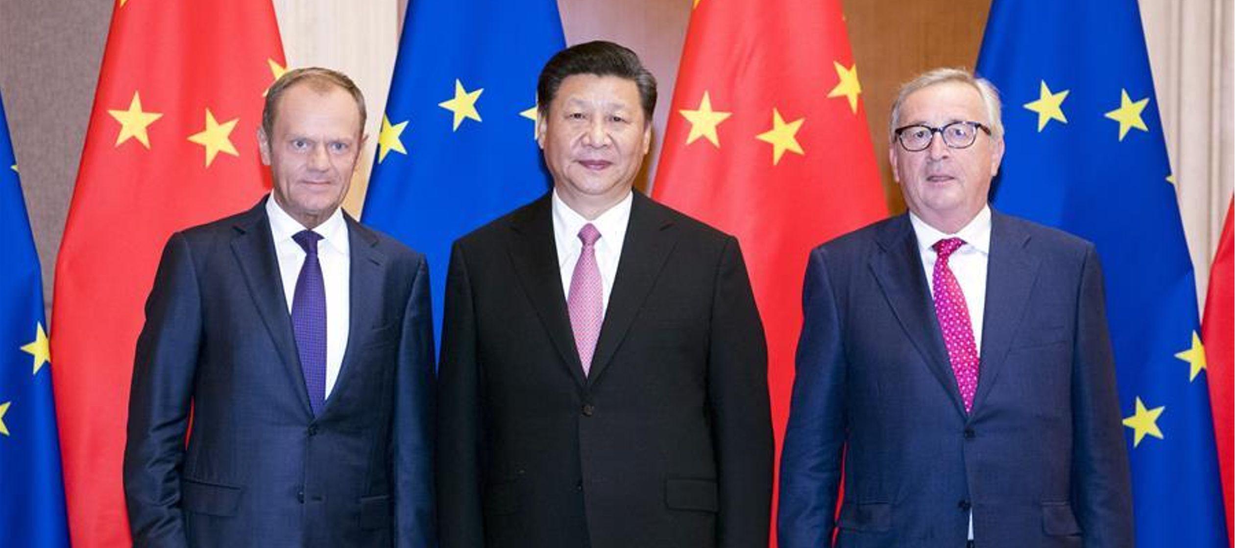 Como dos importantes mercados y civilizaciones del mundo actual, China y Europa deben impulsar con...