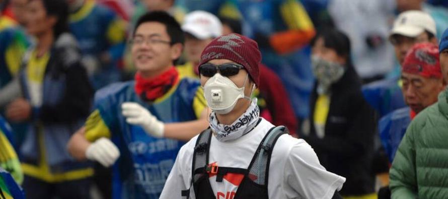 Las máscaras anticontaminación no son eficaces