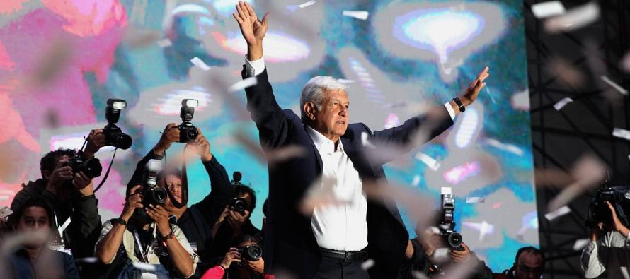 Durante toda la campaña, López Obrador evitó cualquier alusión a...