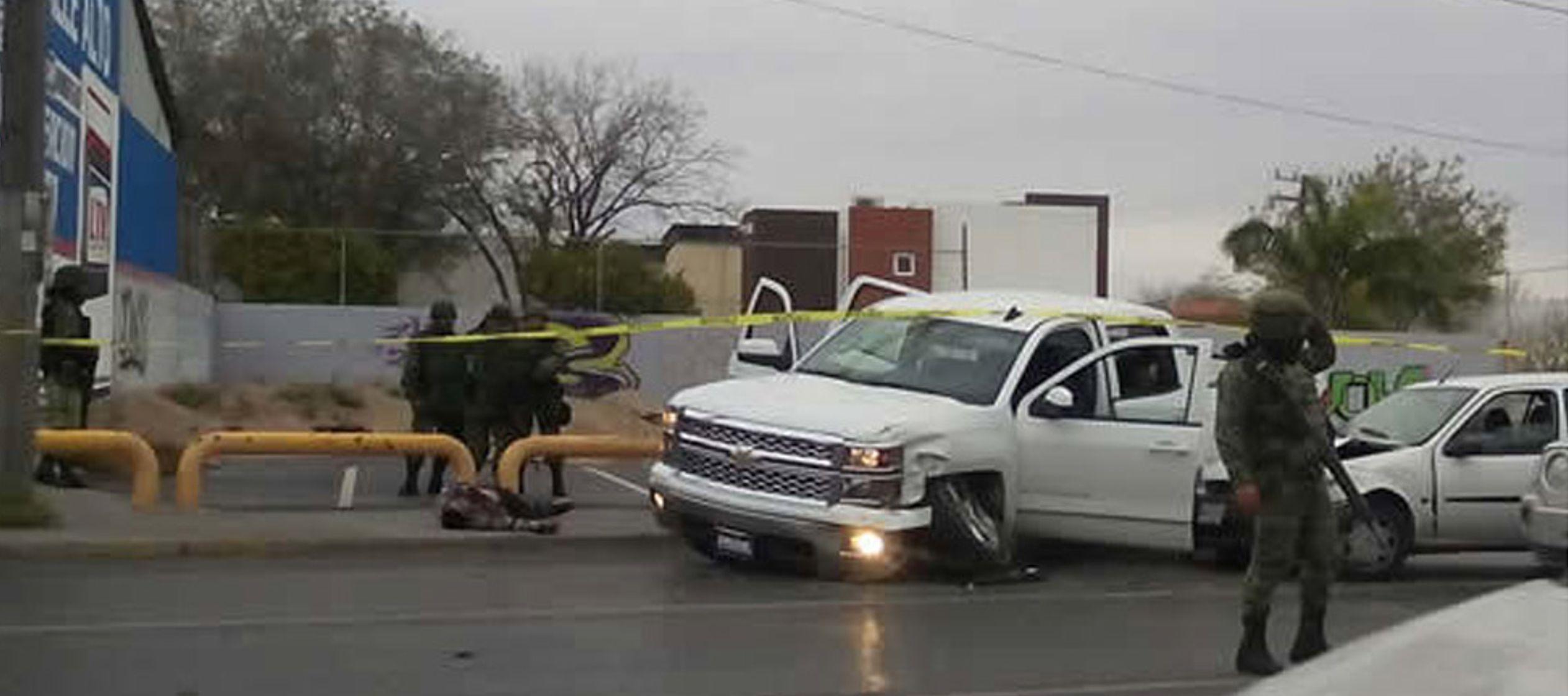 El enfrentamiento tuvo lugar en una zona despoblada a las afueras de Reynosa entre grupos...