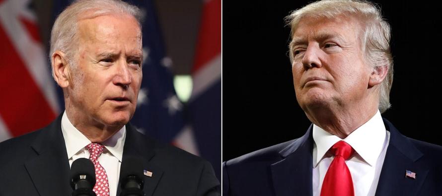 """Trump """"sueña"""" con que su rival en elecciones sea el exvicepresidente Biden"""