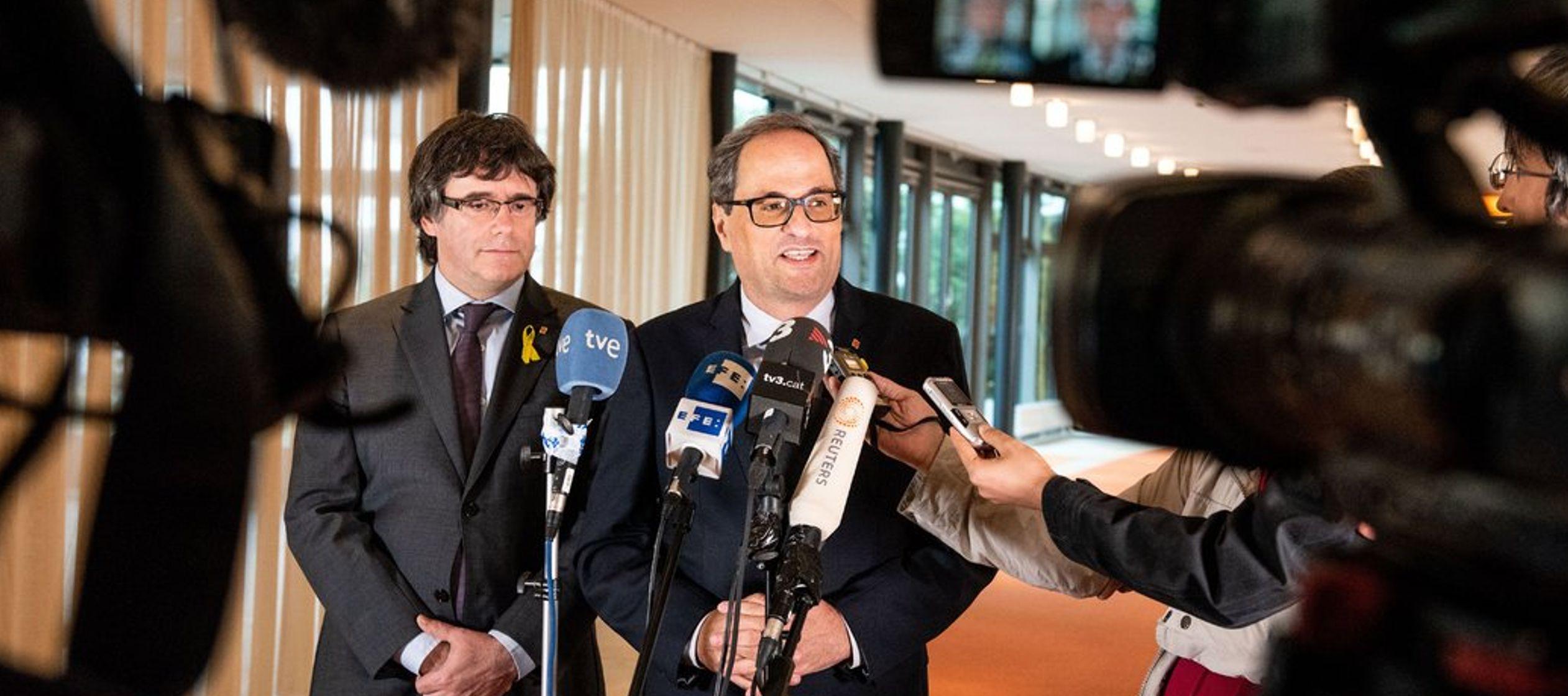 Juez español renuncia a los intentos de extraditar a Puigdemont