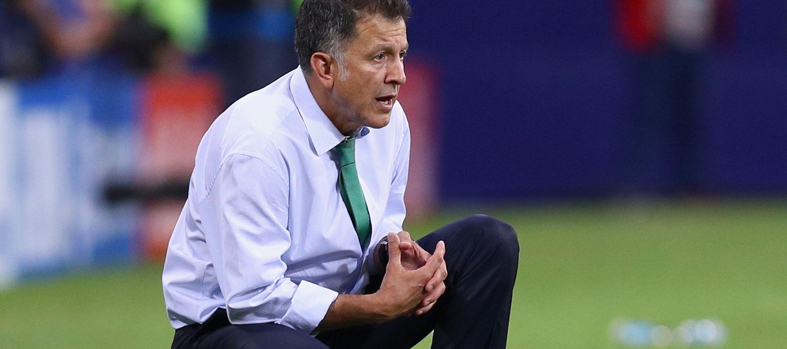 En el aire el futuro de Juan Carlos Osorio al frente de el Tri