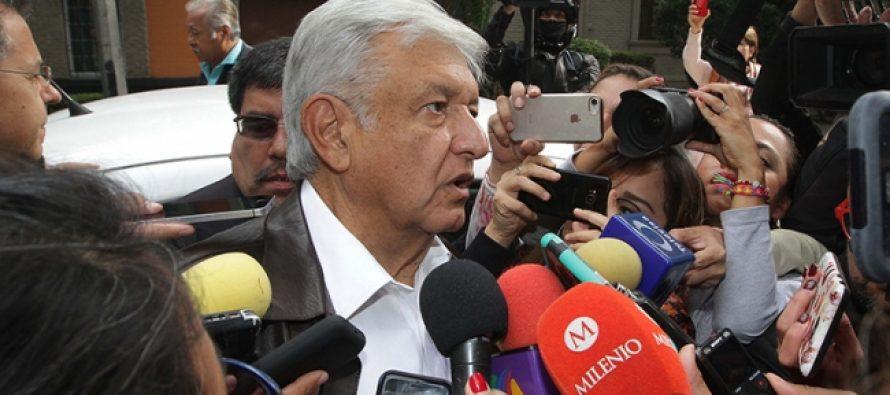 López Obrador carga con dureza contra el Instituto Electoral que multó a su partido