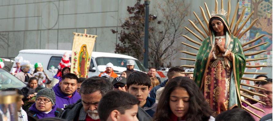 La Virgen Migrante es la voz y el rostro de mexicanos en Estados Unidos