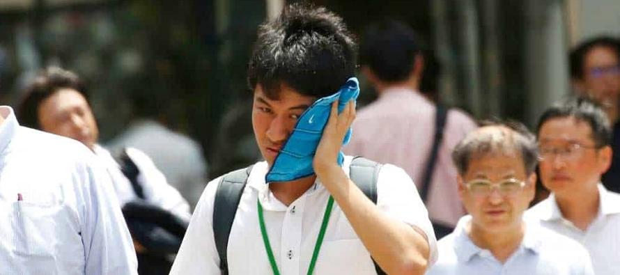 Ola de calor en Japón lleva a los termómetros a temperatura récord