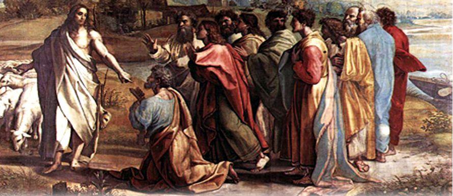 Jesús le dijo: «Bienaventurado eres Simón, hijo de Jonás, porque no te...