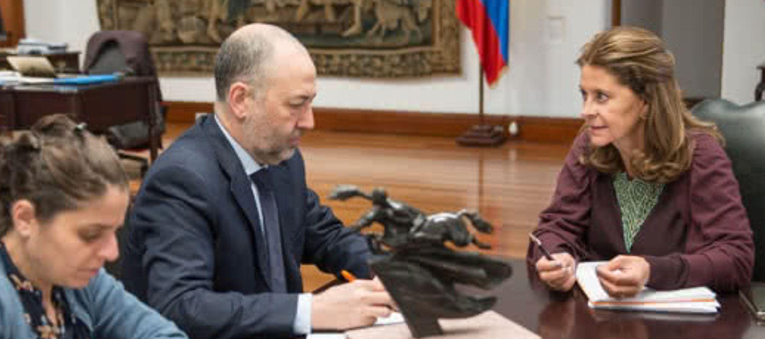 En este sentido, Trujillo reiteró hoy a periodistas que el Gobierno de Duque conoció...