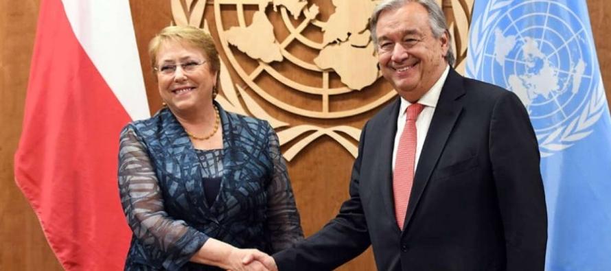Bachelet regresará a la organización a partir del 1 de septiembre, tras ser...