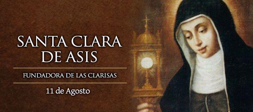 «Discípula de san Francisco, fundadora de la Orden de las Damas Pobres de San...