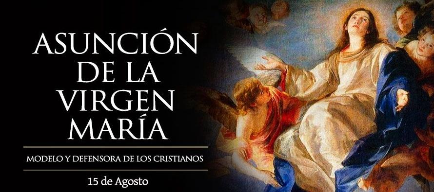 Un ángel se aparecía a la Virgen y le entregaba la palma diciendo:...