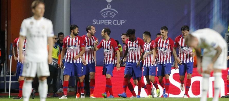 El Atlético fue concreto en ataque. Es una de las cuestiones en la que incide Simeone en...
