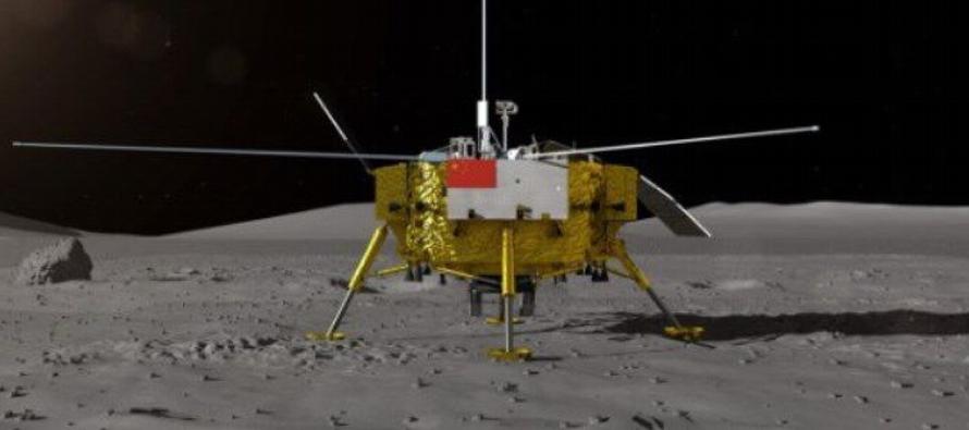 El vehículo es similar al Yutu (Conejo de Jade), el primer explorador lunar chino, lanzado...
