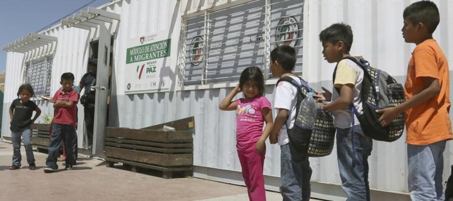 """En su informe """"Desarraigados en Centroamérica y México"""", Unicef..."""