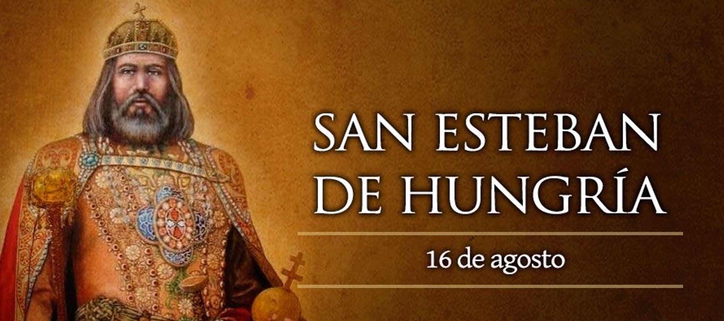 Fue bautizado por San Adalberto y tuvo la suerte de casarse con Gisela, la hermana de San Enrique...
