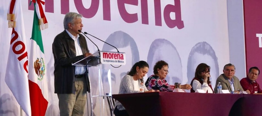 La renuncia del 50 % de los fondos públicos que corresponden a Morena aumentará los...