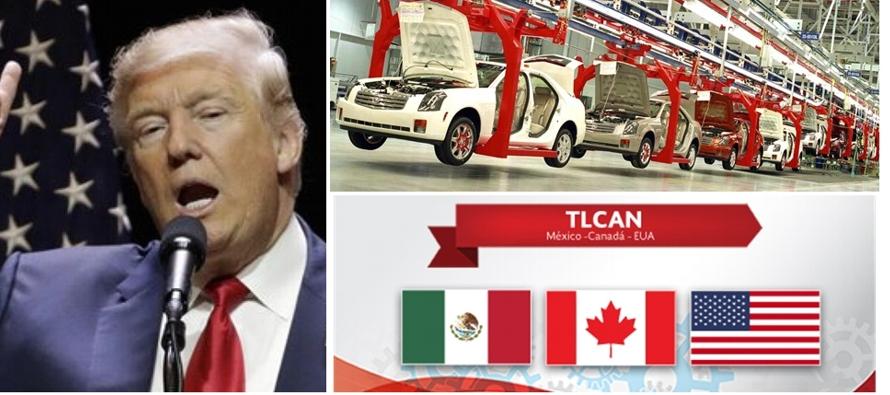 Automotrices extranjeras se oponen a plan de Trump sobre contenido regional en TLCAN