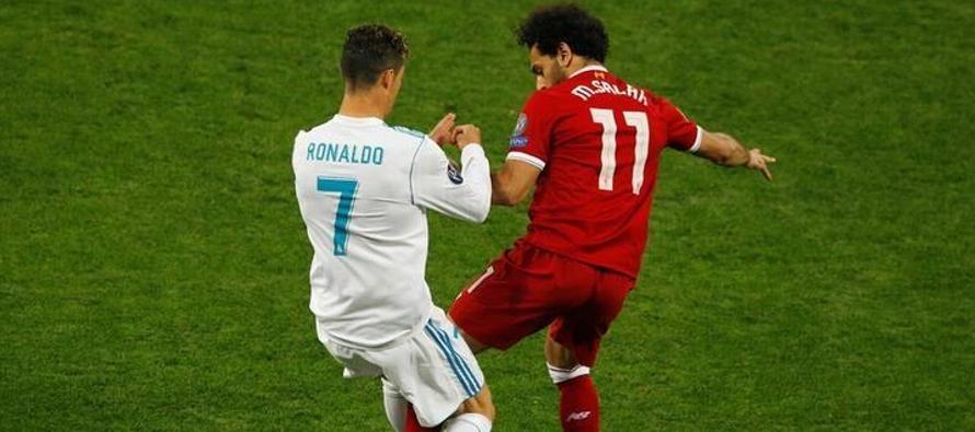 Ronaldo, Modric y Salah, candidatos al Futbolista del Año de la UEFA
