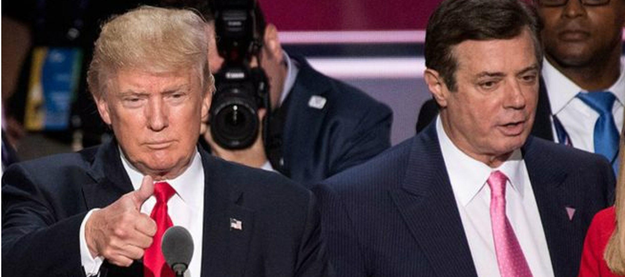 Trump dice que veredicto contra Manafort no tiene nada que ver con él o Rusia