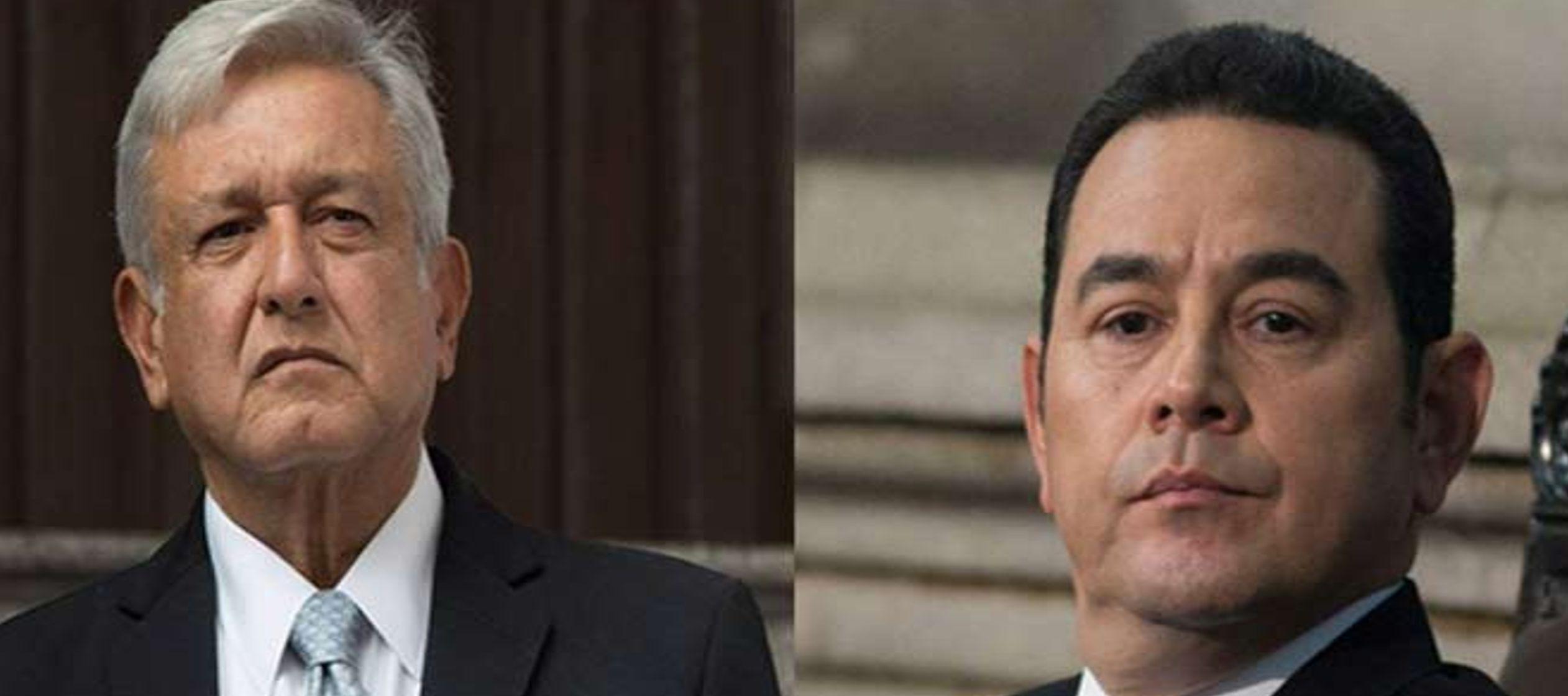 """Guatemala ve """"muy importante"""" el encuentro de López Obrador y Jimmy Morales - ElPeriodicoDeMexico.Com"""