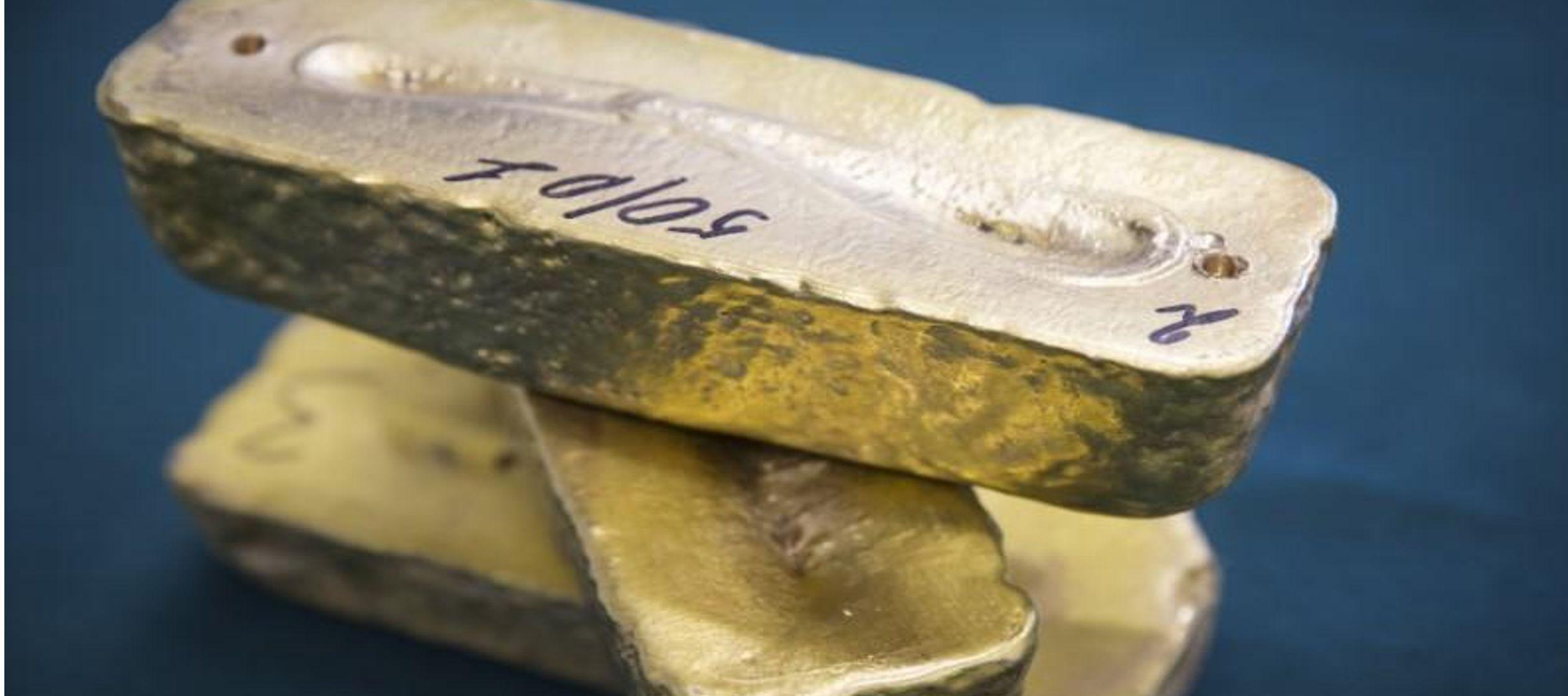 Los futuros del oro para entrega en diciembre en Estados Unidos cerraron con una caída de...
