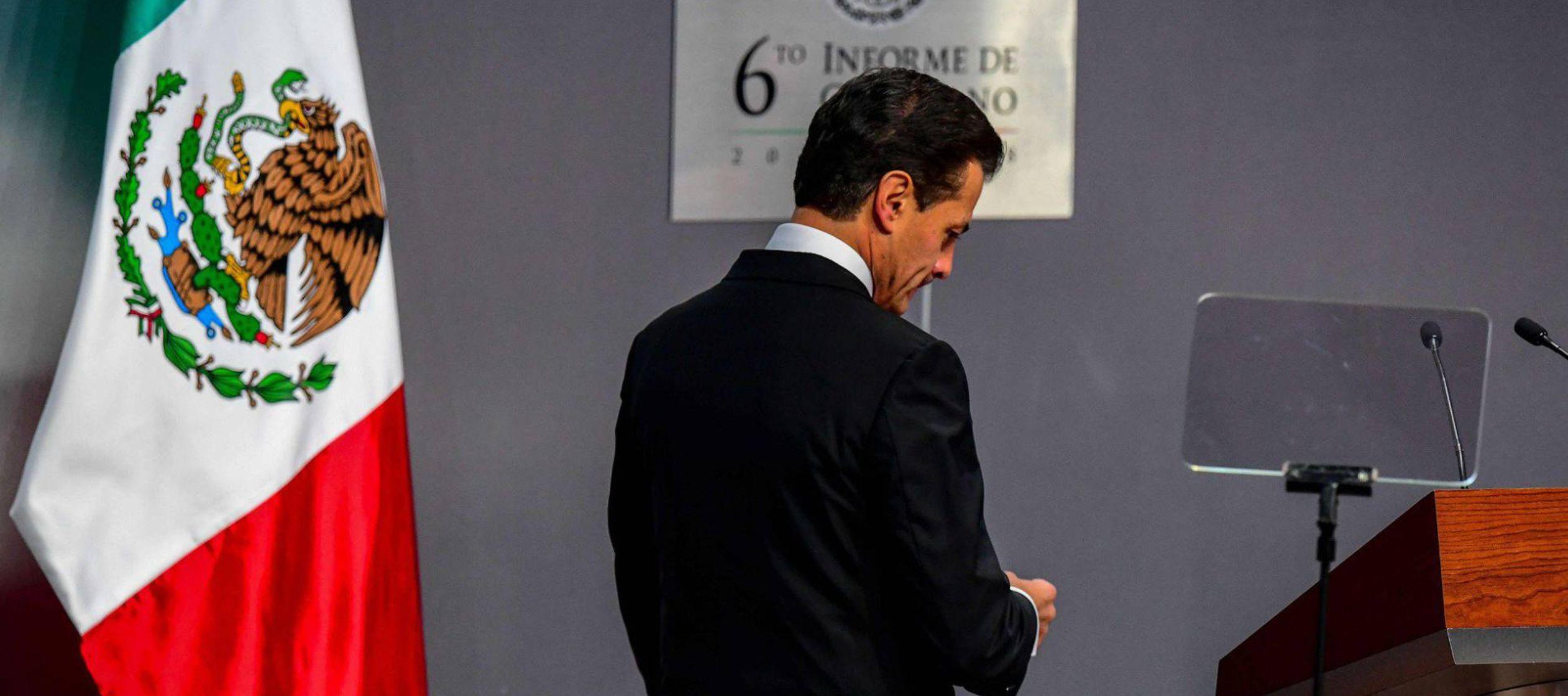 """El principal fue las reformas estructurales que emprendió a su llegada a Los Pinos, """"el..."""