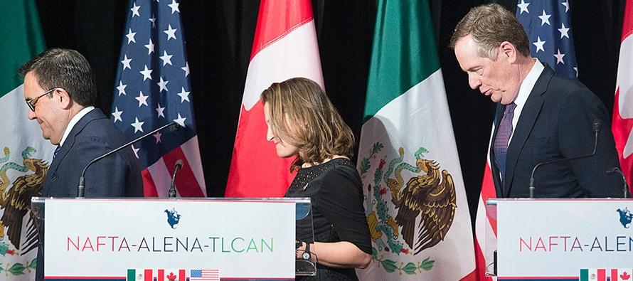 Canadá no estuvo presente en las semanas en que los representantes mexicanos y...