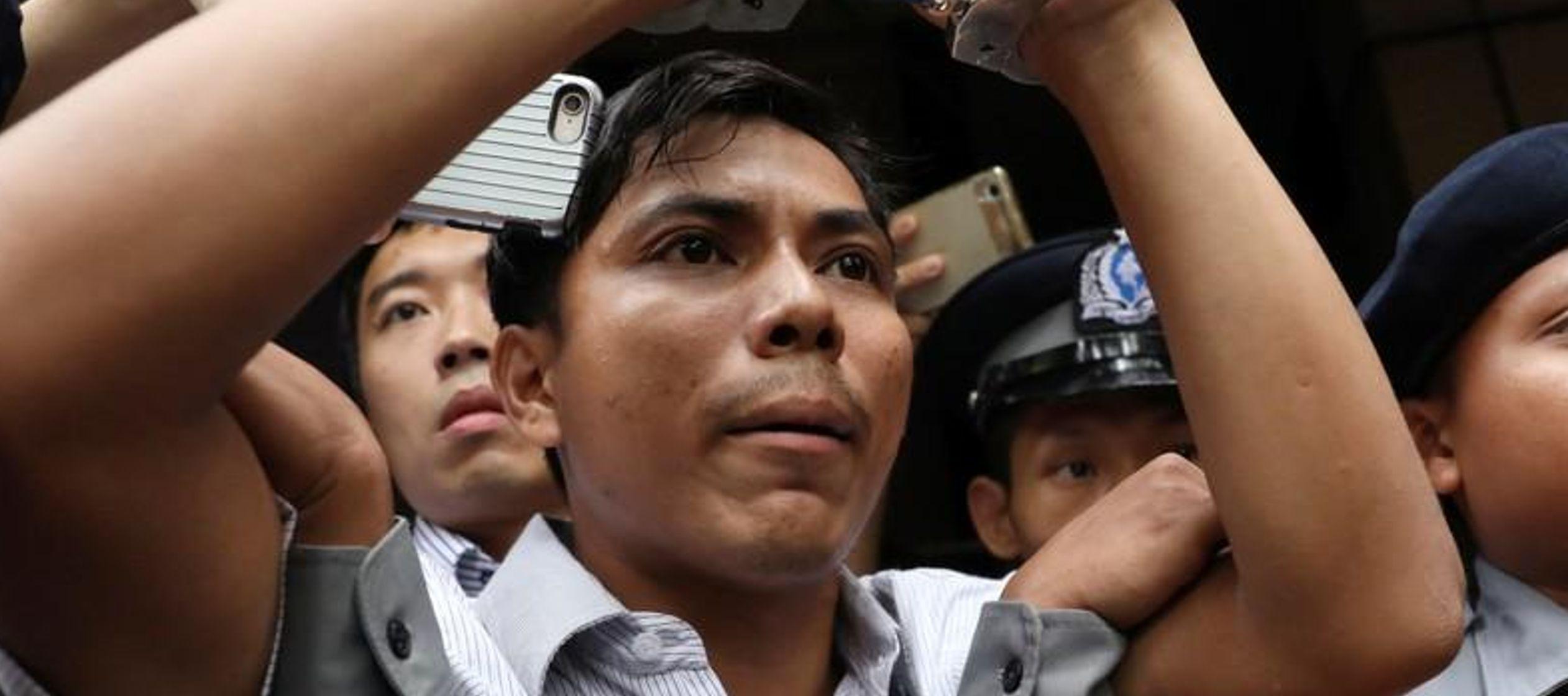 El grupo Reporteros sin Fronteras estima que alrededor de 20 periodistas fueron enjuiciados el...