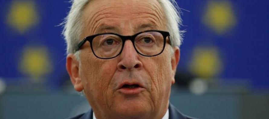 En su discurso anual sobre el estado de la unión ante el Parlamento Europeo, Juncker dijo...
