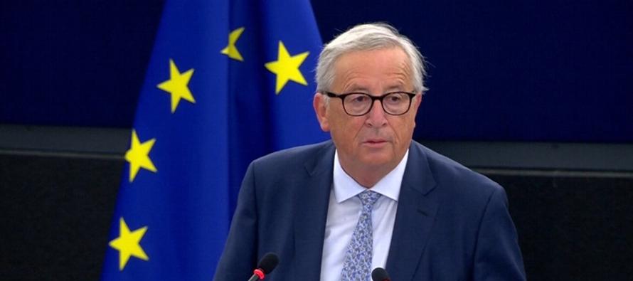 Tres años después, Juncker ha abandonado la retórica idealista, federalista y...