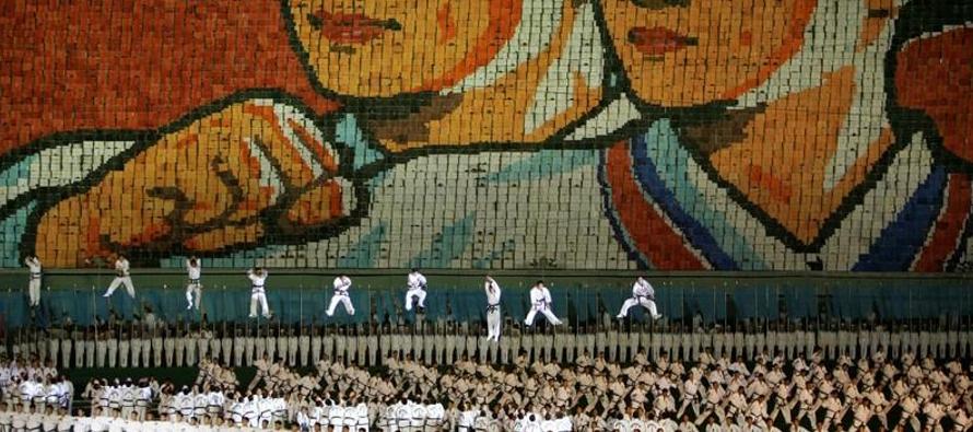 Los primeros Juegos de Masas en Corea del Norte en cinco años han dado al líder del...