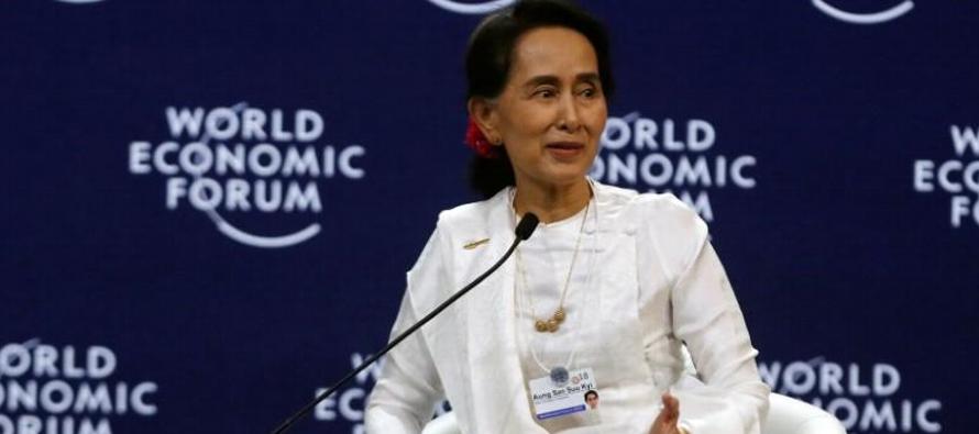 En sus primeros comentarios públicos sobre el caso desde que Wa Lone y Kyaw Soe Oo fueron...