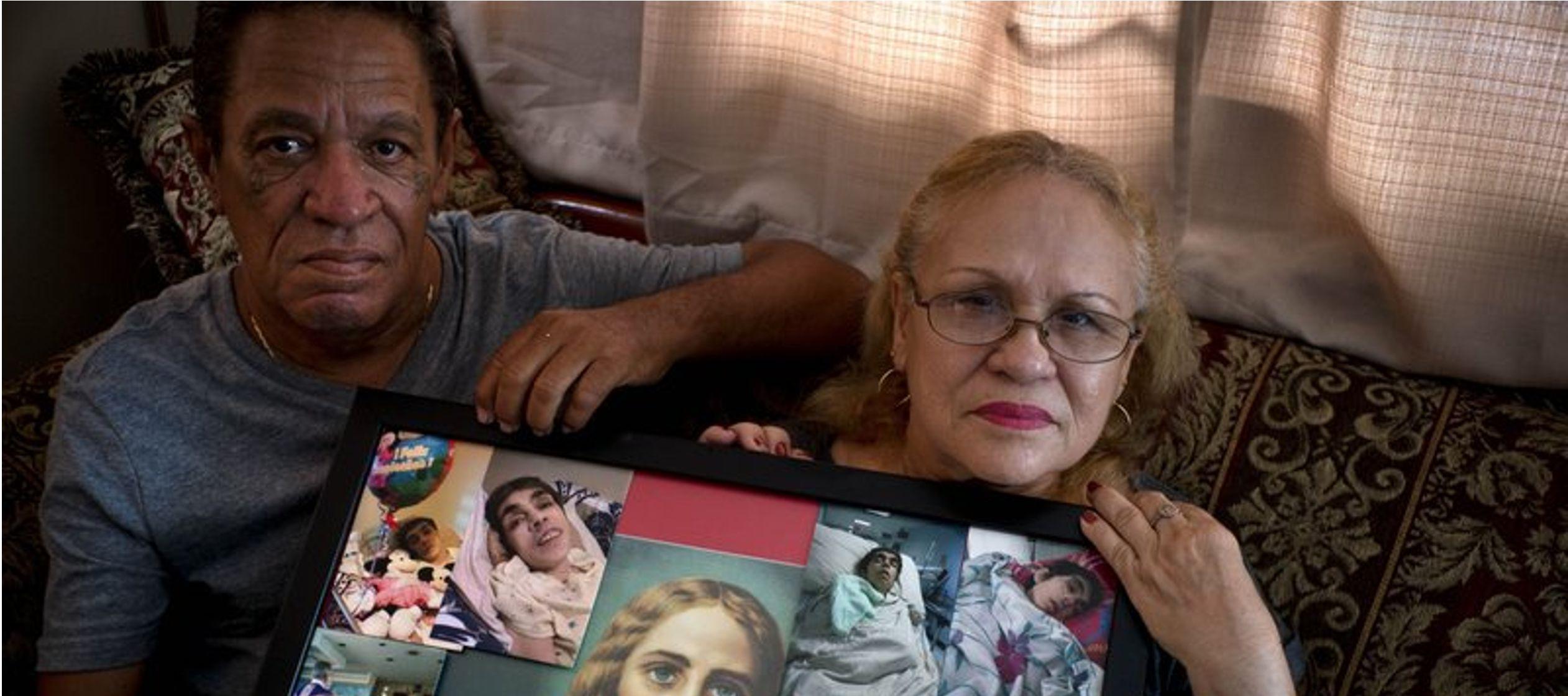Esta mujer incapacitada de 59 años falleció un mes después de una septicemia,...