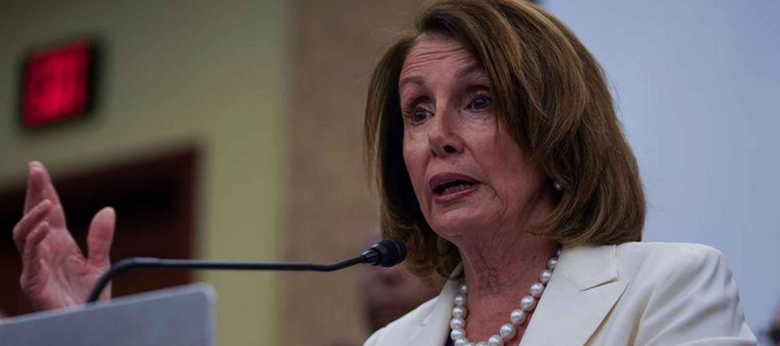 """Creo que debería ser trilateral"", dijo Pelosi a periodistas, y agregó que..."