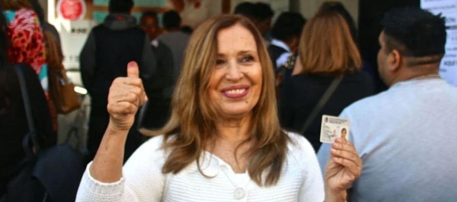 La excandidata de Morena a la Alcaldía de Coyoacán señaló que...