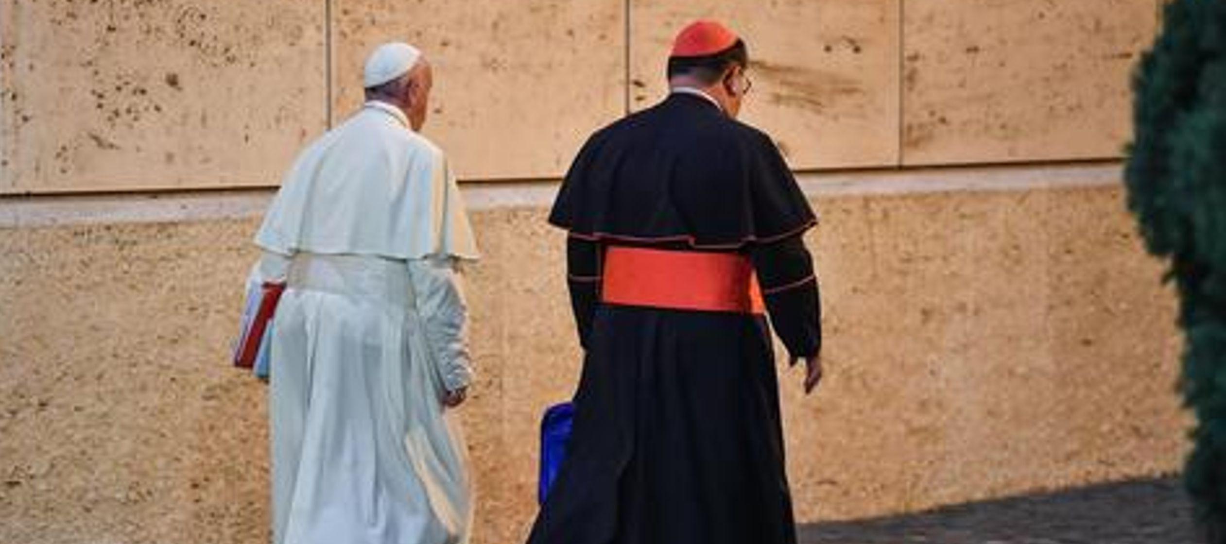 Así reflexionó durante la homilía de la misa de la Casa de Santa Marta en el...