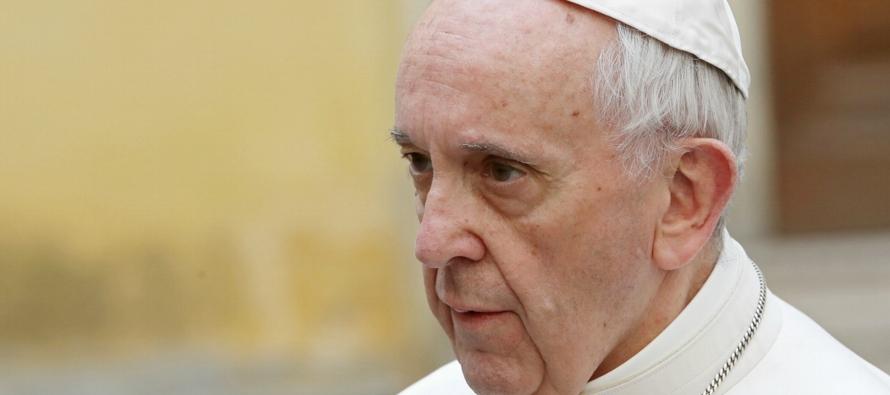 El pontífice está tan convencido de que Satanás es el culpable de la crisis...