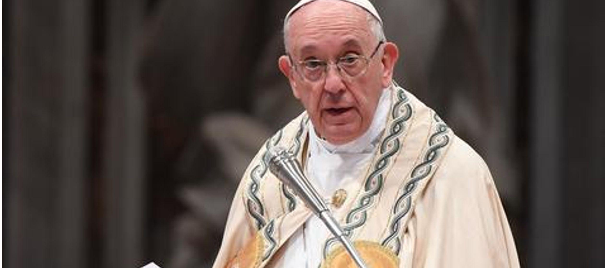Basándose en el Evangelio de hoy, el pontífice reflexionó sobre lo que quiere...