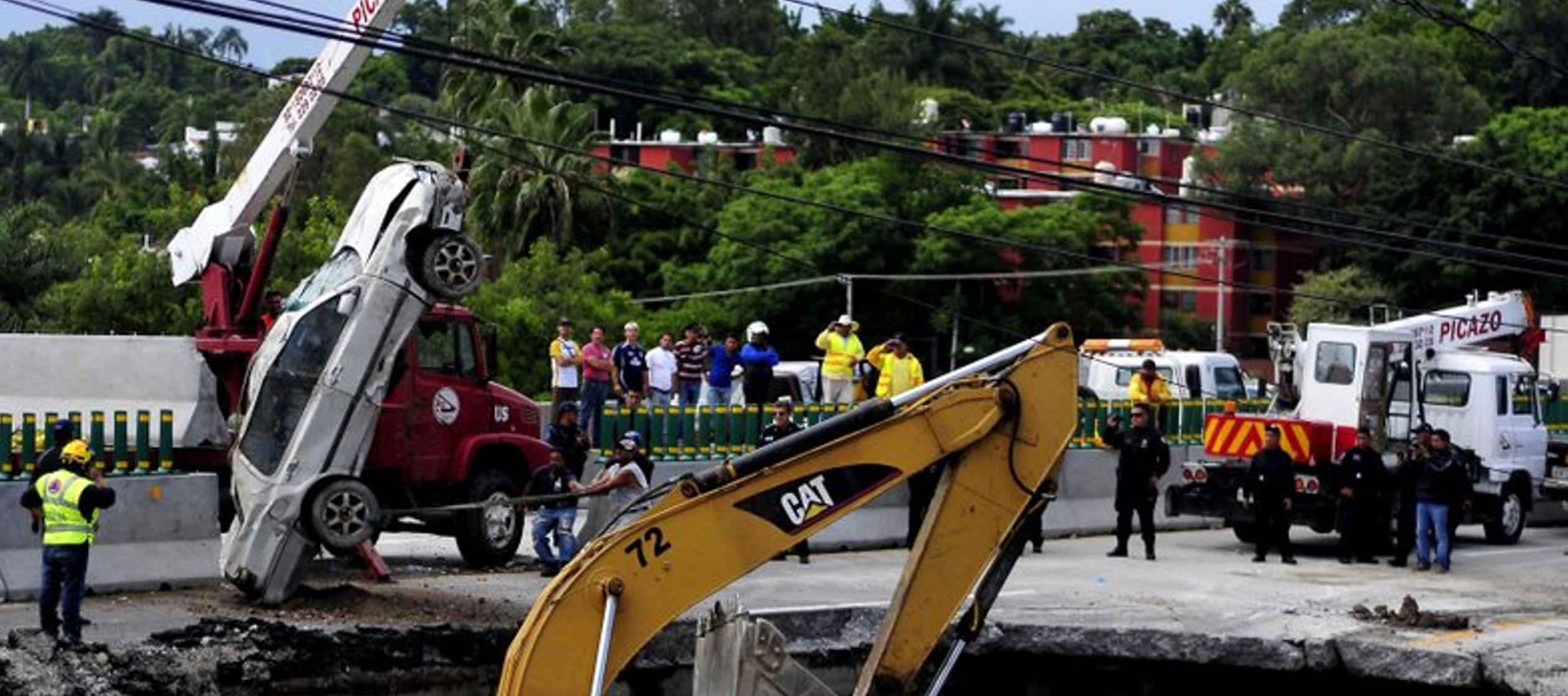 Los residentes habían advertido semanas antes a las autoridades sobre el drenaje pero el...
